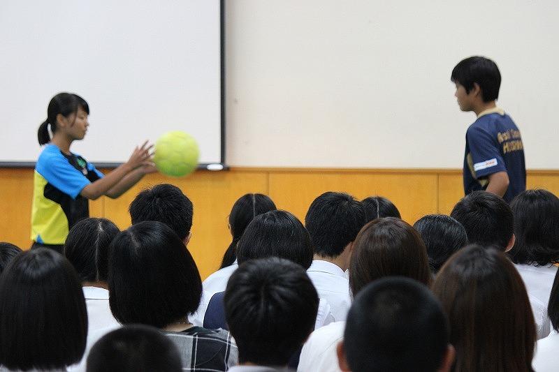 説明会サッカー②