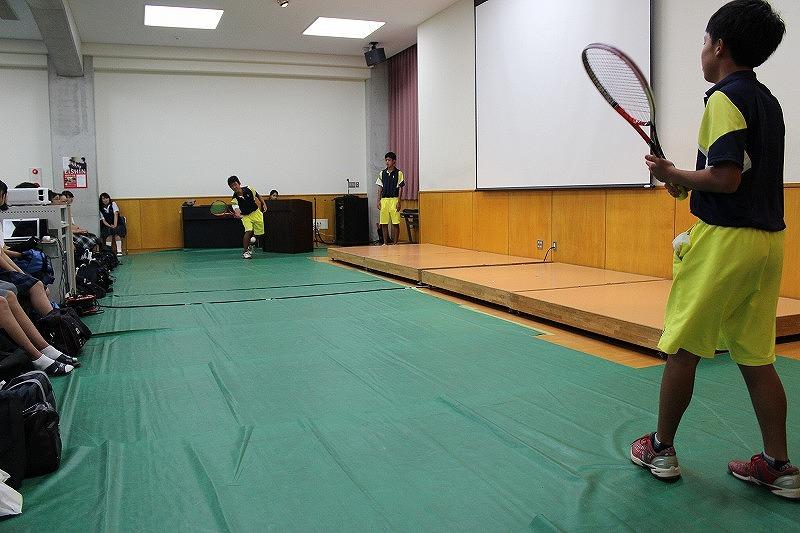 説明会テニス②