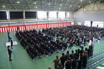 16年度盈進中卒業式 (13)