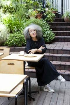 写真: 落合恵子先生